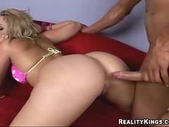 Two nasty girlfriends like to have their pussies drilled by one hard dick.