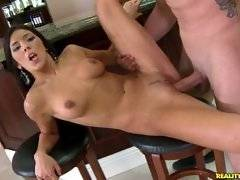 This hottie loves taking on big cock.