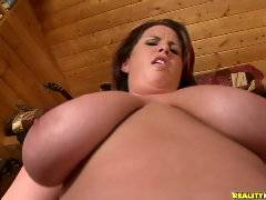 Lisa getting fucked in ass on the couch!