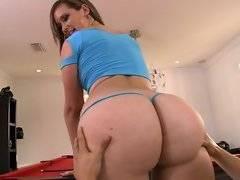 Briella shows off her huge ass.