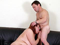 Now this is the type of action that you can\'t believe you\'re seeing when you\'re watching porn - Scotti is a kinky babe that is in the mood to suck off a midget. This freaky bitch has to get all the way down to the ground to start sucking Kicsi\'s midget dick. It only gets crazier when he crawls up on the couch to have a go at her pussy. Her leg is longer than his entire body, but he pounds away with his oversized dick. This chick is not likely to forget her midget sexual experience, and neither will you.