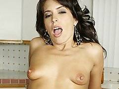Druuna is a sexy older woman that first strips out of her skirt and finger-fucks herself from behind.  She oils herself down before Nick steps in to lick her pussy from behind.  She has a meaty ass that he can\'t keep his hands off of it.  She moans and purrs when he finger-fucks her and she starts sucking his dick.  She works his wang and lick his nutsack before bending over and getting fucked doggy-style.  The deep penetration feels so good that she gets on all fours and keeps it going.  Next she rides him in reverse, then sits on his face and bounces her ass up and down.  They hit few more positions before he nuts.