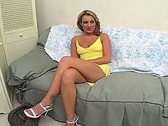 Horny mature slut Joey answers an Internet personals ad looking for older sluts you want a bit of cock on the side.  This mature dame is bitter and angry at her husband, who she has just found out has been cheating on her for quite a while with his much younger secretary.  She feels that she has given the best years of her life to her man, only to have it thrown back in her face.  They say there\'s nothing worse than a woman scorned, and she really pays him back by giving stud Brett Rockman a really good sucking and fucking.  This whore goes crazy on the dick, working Brett\'s cock like a younger woman and bringing him off quick for a facial.