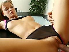 Hot red head action with Trixi from this older sex scene