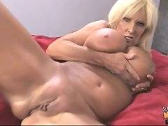 Black guy bangs busty blonde mom after blowjob