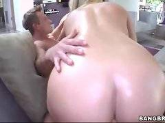 Dude gets his eager dick sucked by two naughty chicks.