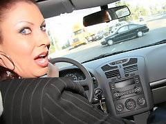 I'm Vanessa Vidal, a milf housewife who's husband would rather play golf with his friends than take care of his woman's needs. Is it any wonder that I go out in search for huge black cocks? The gear shift in my car wasn't as nearly as big as the monster black cock I came across during my daily prowls. If my husband had a big enough dick to make me happy then I wouldn't be unfaithful to him but he's white so it's encoded in his D.N.A to be a sexual failure. Black dick which is roughly half my age is the only reason I get out of bed in the morning and the reason I'm sore at night. I attacked that black penis like a starving black cock slut and jammed it down my throat until I nearly vomited this morning's breakfast. I could tell that my new black boyfriend would treat my white slut pussy the way it was meant to be treated and he didn't fail me by the way it turned beet red by the non-stop pounding he dished out.