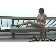 Her body is awesome - a real professional lesbian