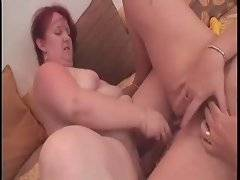 Fat and bewitching lesbian likes to play with her chicks kitty