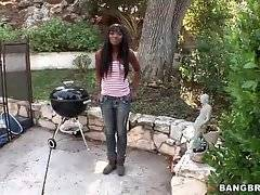 Ebony Ana Foxxx is thinking about her fucker