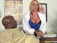 This black dude is fond of service in this clinic.