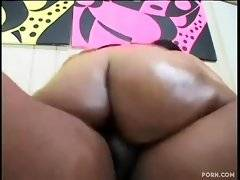 In this hardcore porn video you can see rough bang