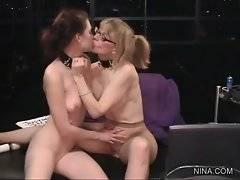 Admirable Justine Joli likes to kiss her naughty whore