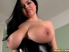 Busty Shione Cooper is showing her big tits