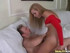 Sexy Jessie Rogers with nice ass gets ride on big dick