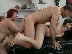 Naughty and sexy redhead likes to have deep fuck