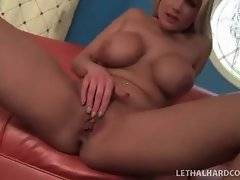 Sexy and cute babe is sucking black dick