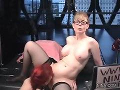 Amateur Nina Hartley is proud of her bitch