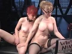 Adorable Nina likes to masturbate her pussy