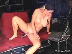 Naughty bitches are having awesome sex fun