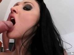 Cute Aletta Ocean is satisfying her fuckers