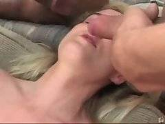 Blonde loves to get her holes banged by massive black rods.