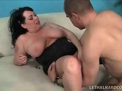 In this porn video you can see captivating cock sucker