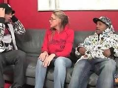Lady catches her son hanging with black thug.