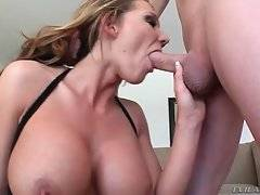 Naughty and hot doll is satisfying her neighbor
