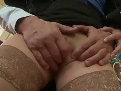In this porn video oyu can see hungry boss