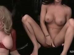 Slutty Nina Hartley is ready to satisfy her slut