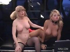 In this porn video you can see winsome Vicky Vette