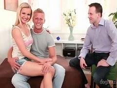 In this porn video you can see dirty chick