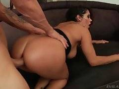 In this porn video you can see awesome whore