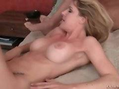 In this porn video you can see attractive Anita Blue