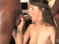 Amateur and dirty Syren DeMer likes her black fucker