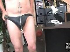 White fallow has to watch his babe sucking black rod.