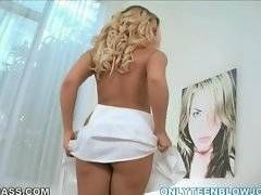 In this porn video you can see horny Britney Young
