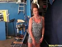In this porn video you can see charming Mimi Moore