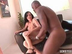In this porn video you can see fine Melissa Lauren