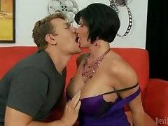 In this porn video you can see entrancing whore