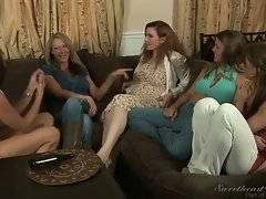 In this porn video you can see dirty angels