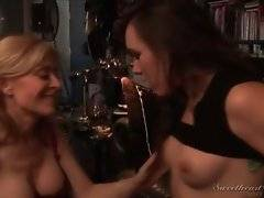 In this porn video you can see frisky bitches