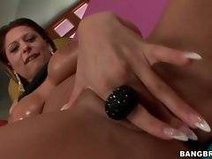 Amateur Alison Star is showing her pussy