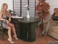 Silvia Saint and Ashley Bulgari are talking about sex