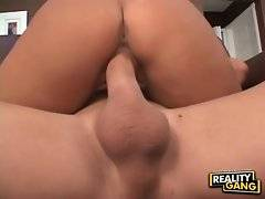 This princess with naked ass gets ride on huge dick