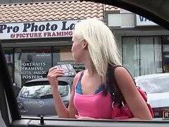 Amazing whore is looking for new slut on the street