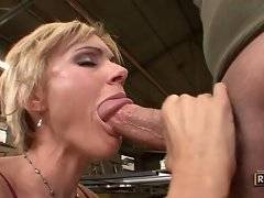 Amazing and sexy cutie is sucking very good