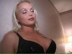 Enjoy the view of this awesome busty blonde Silvia Saint.