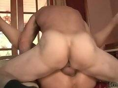In this porn video you can see attractive whore